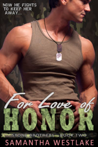 For Love of Honor cover